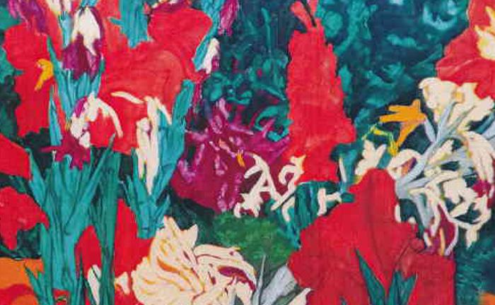 Galeria Delfiny: Szamborski w kwiatach