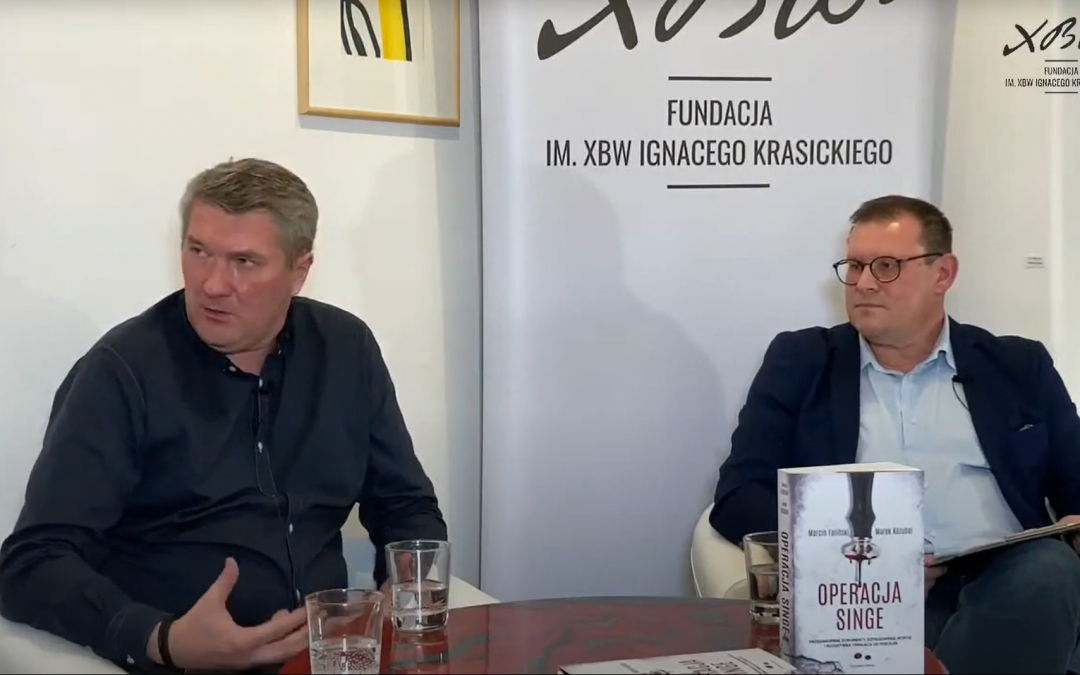 """""""Operacja Singe"""": Wieczór autorski Marka Kozubala i Marcina Falińskiego w Galerii Delfiny"""