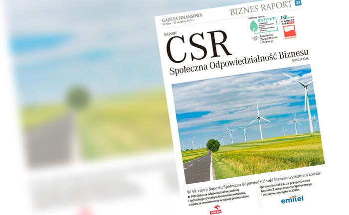Europejski Zielony Ład a sprawa Polska. PKN Orlen i Emitel zostali laureatami magazynu Raport CSR